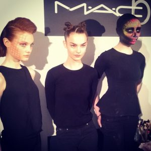 Andrew Gallimore's creations at the MAC Masterclass